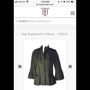 Diane Von Furstenberg peplum jacket